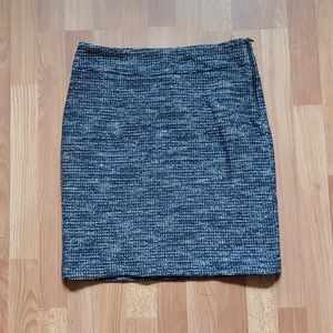 Banana republic blue pencil skirt size 10